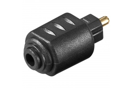 Adapter Audio 3,5mm Jack - wtyk optyczny Toslink A005