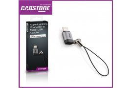 Adapter gniazda micro USB na wtyk Apple CABSTONE