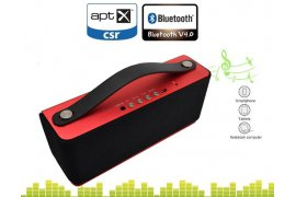Aluminiowe głośniki bluetooth Spacetronik X05 Red