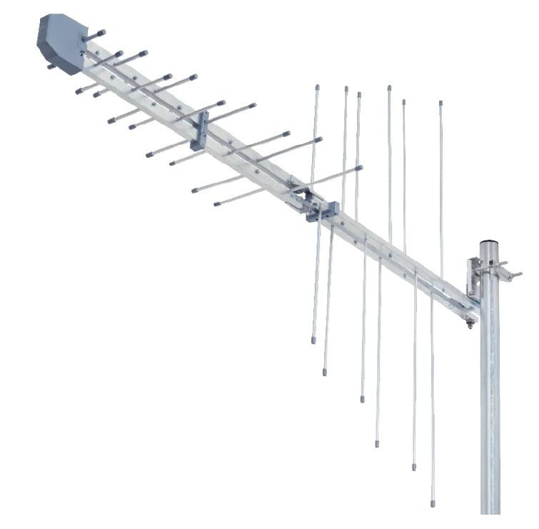 Przeróbka (tuning) anteny logarytmicznej (80km od Ślęży)