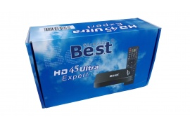 Smart TV BEST HD45 Ultra Expert IPTV Ukraina+Rosja