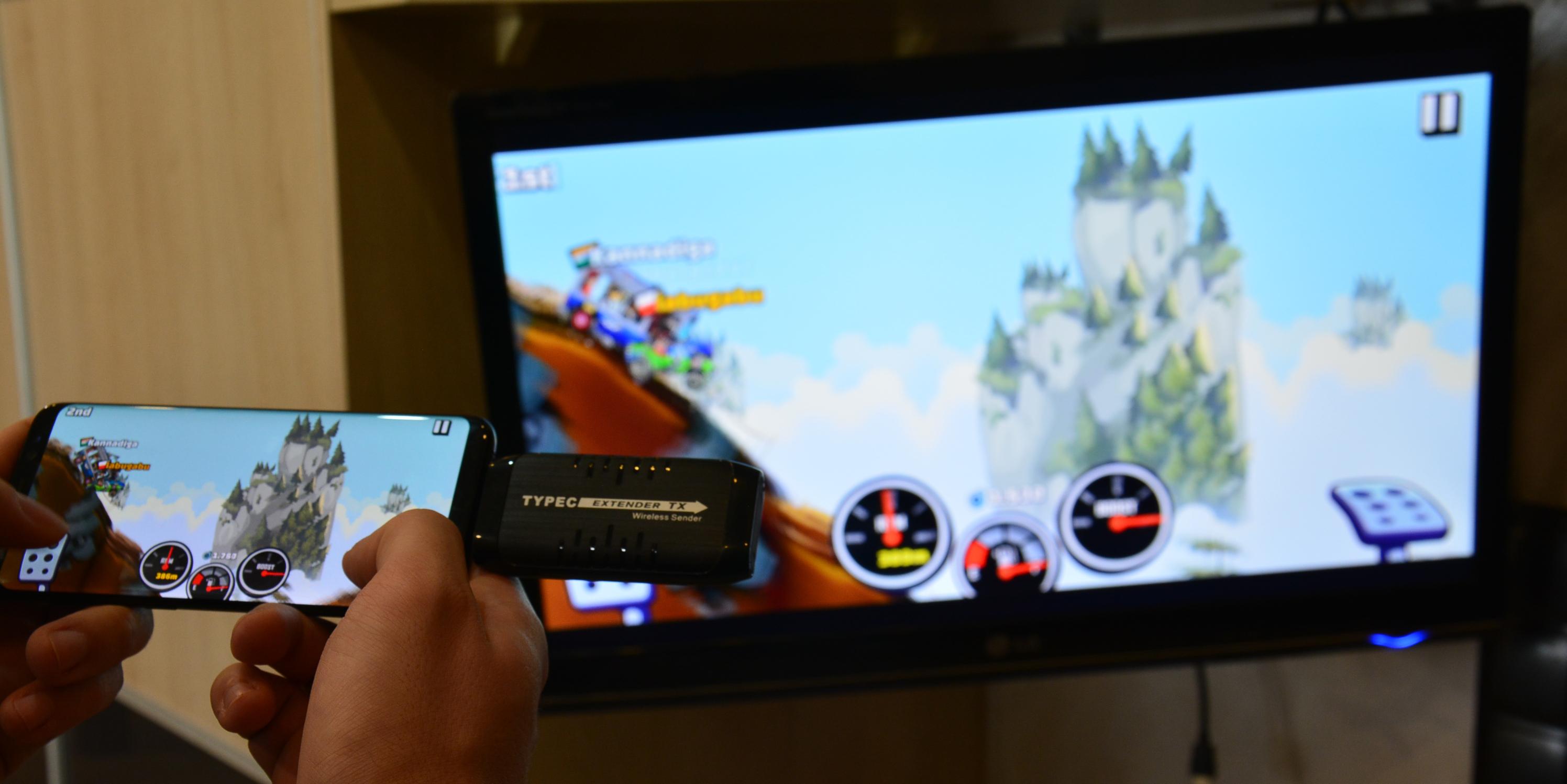 Bezprzewodowy transmiter USB-C na HDMI