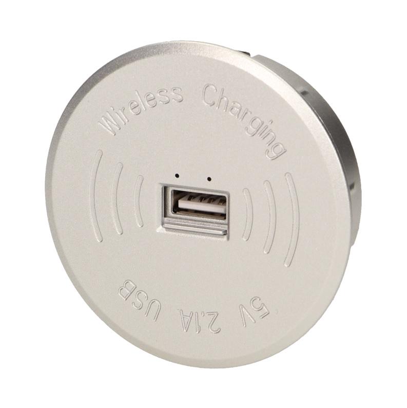 Bezprzewodowa ładowarka indukcyjna z dodatkowym portem USB