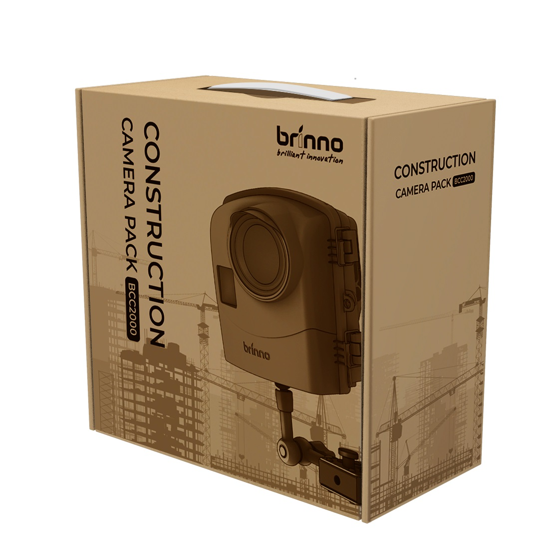 Brinno Construction Camera BCC2000 Time Lapse HDR FullHD IPX5