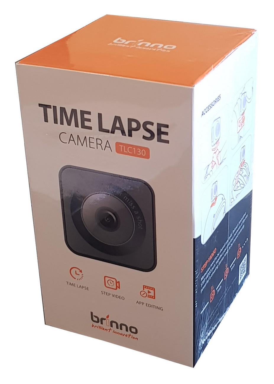 Brinno Wi-Fi Bluetooth Time Lapse + Step Video Camera TLC130