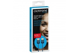 CLICKTRONIC kabel HDMI™ A High Speed Full HD Slim