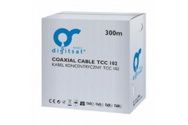DIGITSAT TCC 102 Trishield Cu PULL BOX 300m