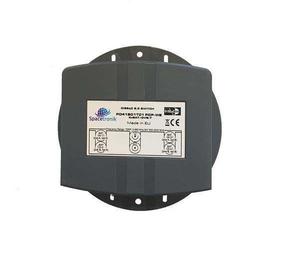 Przełącznik DiSEqC PD41S01T01 PCP-W2 4XSAT + DVB-T