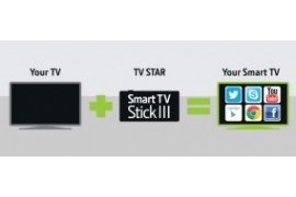 eStar TV Stick III Android dongle z klawiaturą