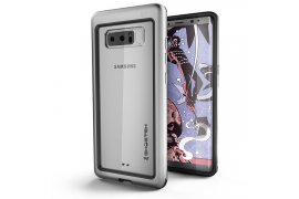 Etui Atomic Slim Samsung Galaxy Note8 srebrny