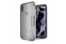 Etui Cloak 3 Apple iPhone Xs srebrny
