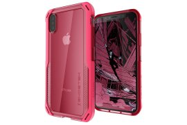 Etui Cloak 4 Apple iPhone Xs różowy