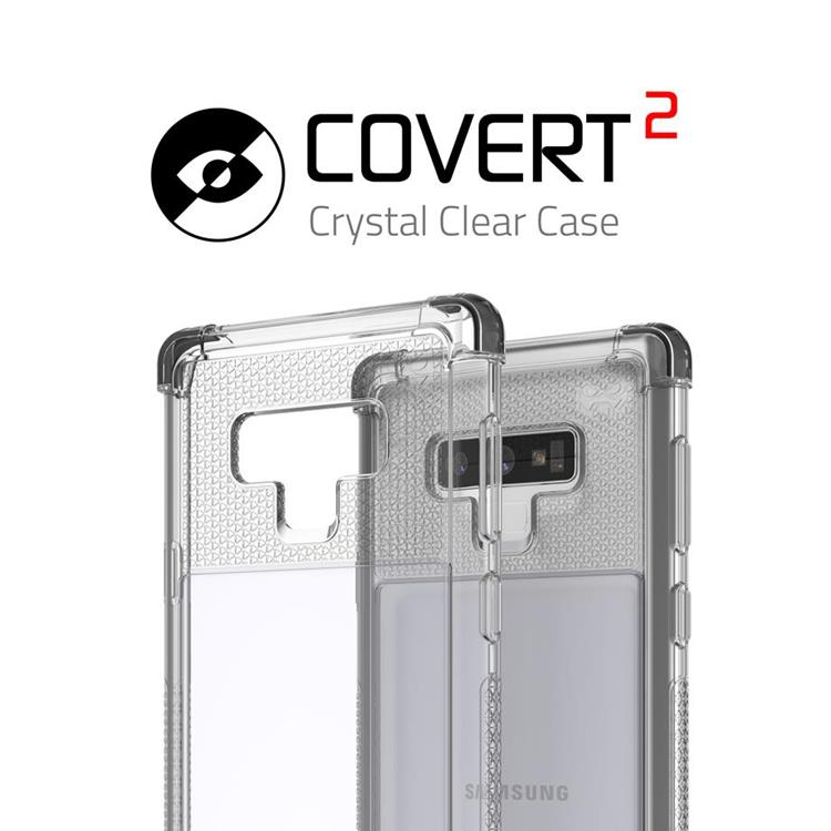Etui Covert 2 Samsung Galaxy Note9 czarny
