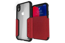 Etui Exec 3 Apple iPhone Xr czerwony