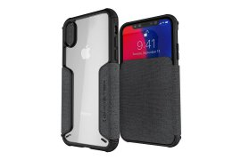 Etui Exec 3 Apple iPhone Xs szary