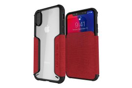 Etui Exec 3 Apple iPhone Xs czerwony