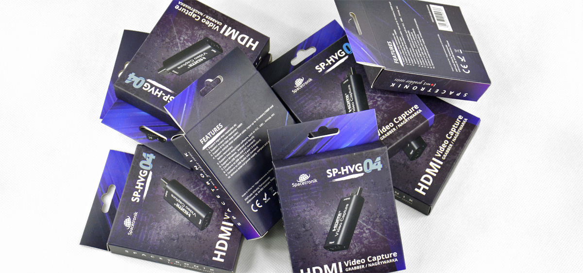 Video Grabber Nagrywarka HDMI do PC USB Spacetronik SP-HVG04
