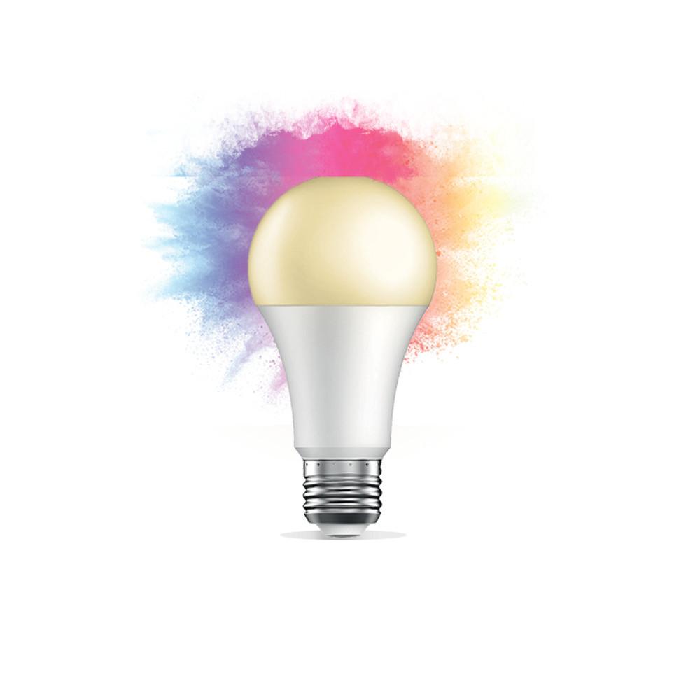 Inteligentna żarówka LED Wi-Fi Qnect QN-WB01 E27 białe ciepłe + RGB