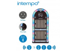 Intempo JUKEBOX szafa Bluetooth z radiem FM i LED