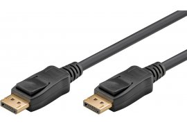 Kabel DisplayPort - DisplayPort DP/DP 1.4 czarny 8K 60Hz Goobay 5m