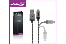 Kabel High Power micro USB - USB CABSTONE
