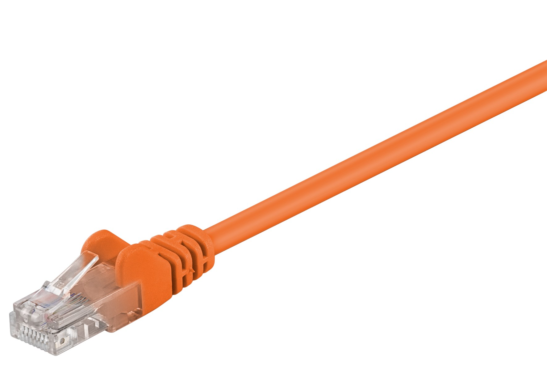 kabel lan patchcord cat 5e u utp orange. Black Bedroom Furniture Sets. Home Design Ideas