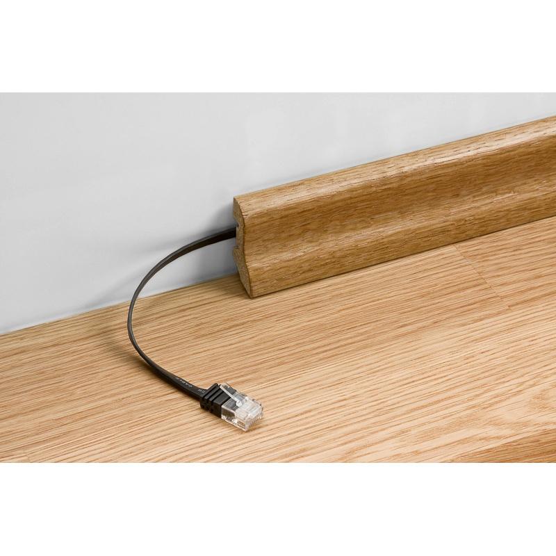 kabel lan patch cord cat 5e u utp p aski bia y 2m internetowy sklep tv sat. Black Bedroom Furniture Sets. Home Design Ideas