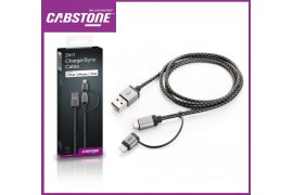 Kabel USB - micro USB + adapter Apple Lightning (8-pin) CABSTONE