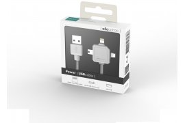 Kabel USB na Mini USB Micro USB Apple Lightning