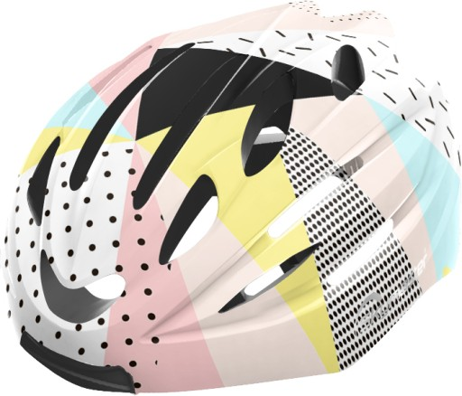 Kask multimedialny LED +BT Skymaster HELMET Multicolor