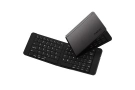 Klawiatura MOC Foldable Bluetooth Keyboard Black