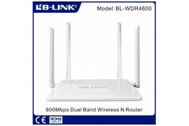 LB-Link BL-WDR4600 Wireless Dual N Band Router 4x5dbi, 600Mbps