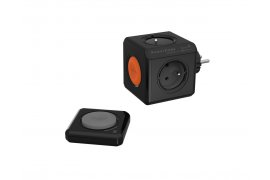 Listwa sieciowa PowerCube Original Remote + PowerRemote BLACK