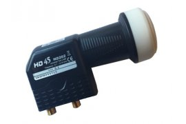 LNB BEST HD 45 Twin 4K 0,1 dB Black