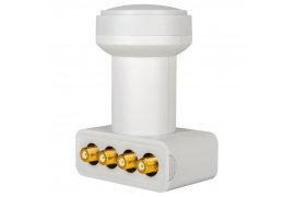 LNB HD-PROFI Quad Gold