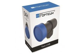 LNB Twin Opticum LTP-04H V2 Black