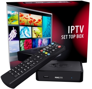 MAG254 IPTV & TOP-BOX TV