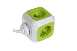 Listwa zasilająca Magic Cube 4x 230V 2x USB 1,4m GreenBlue GB118