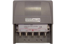 Maximum 4-way splitter 5-2300 MHz