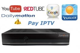 Medi@link Black Panther MAGIC HDBOX 1 Card + IPTV +XXX