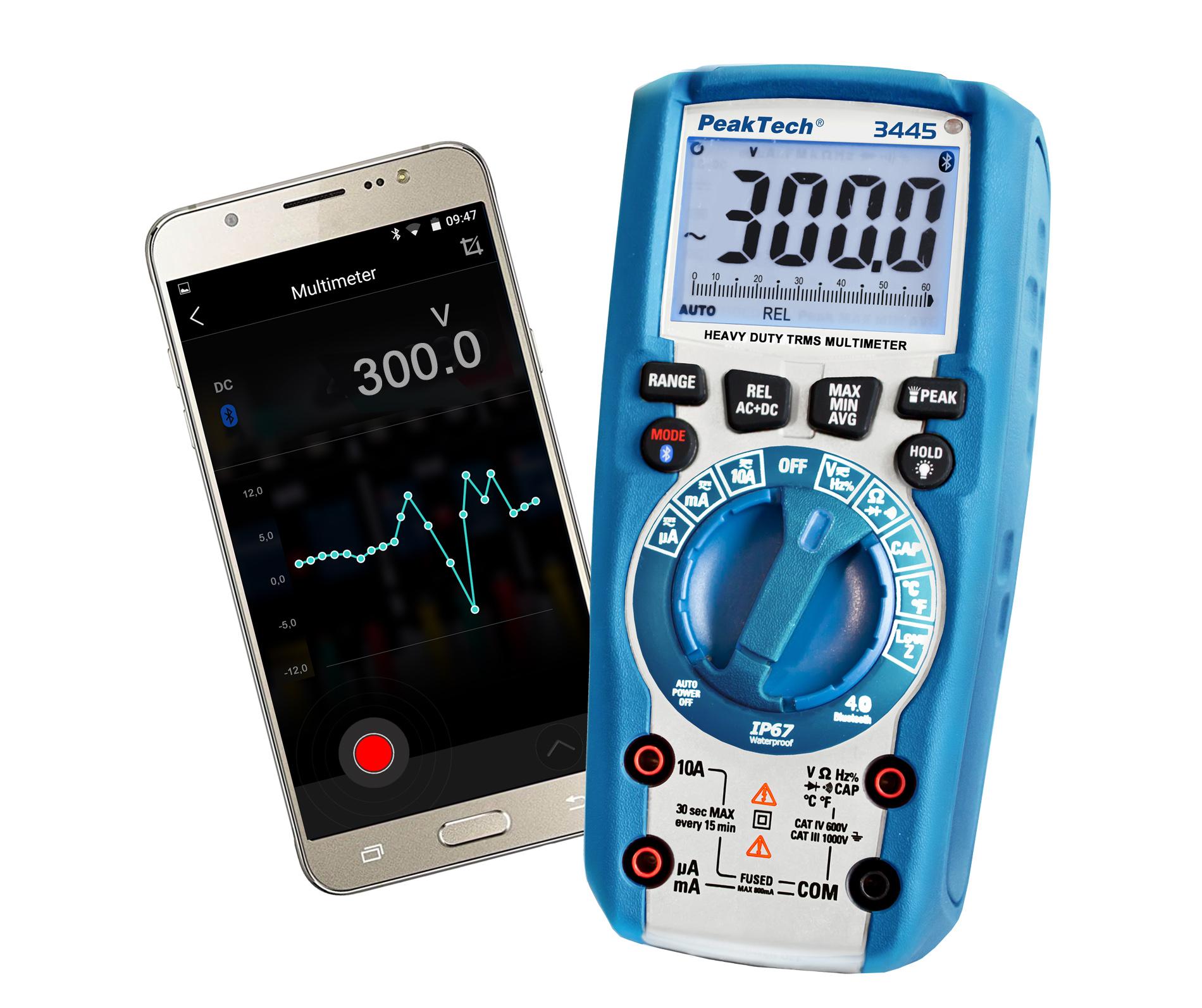 multimetr cyfrowy PeakTech 3445