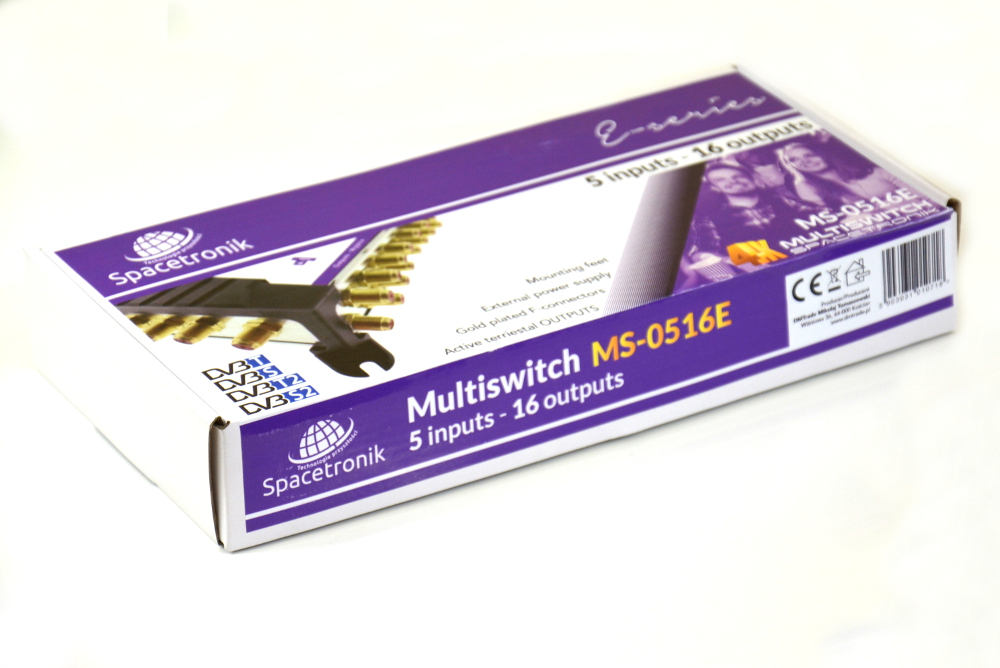 Multiswitch 5/16 Spacetronik E-Series MS-0516E
