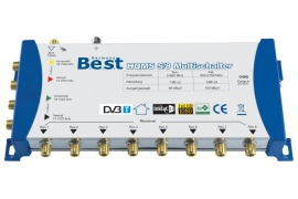 Multiswitch BEST HQMS 5/8 + zasilacz