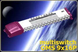 Multiswitch OPTICUM OMS 9/16