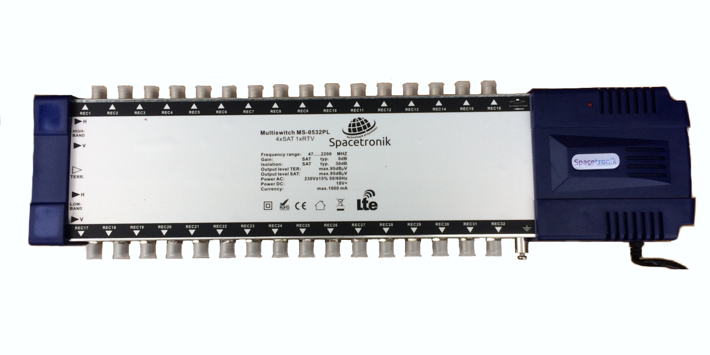 multiswitch pro series spacetronik 5/32