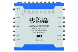 MultiSwitch Cyfrowy Ekspert Technisat CE 9/12 HD
