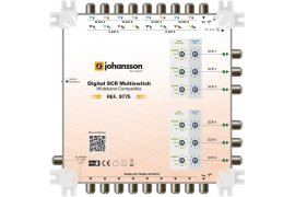 Multiswitch Unicable II Johansson 9775 - 9/6 dCSS/dSCR
