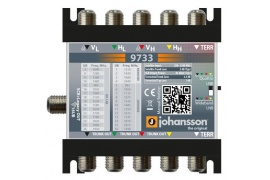 Multiswitch Unicable II Johansson 9733 - 5/1 dCSS /dSCR