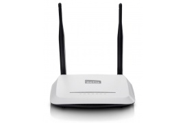 Netis WF2419I Router N 2.4 GHz 300Mbps 4-port 2x fixed antena 5dBi