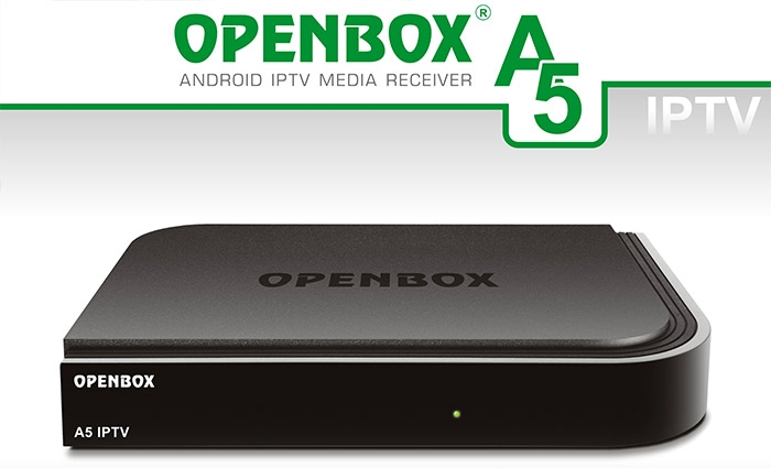 Openbox A5 IPTV & SMART BOX TV Android 4K KODI
